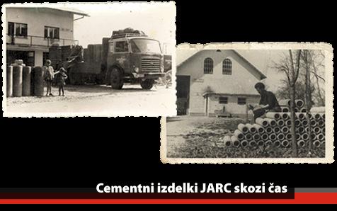 Cementni izdelki Jarc - včasih
