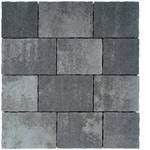 Tlakovci Grande Combo - Sivo-črna